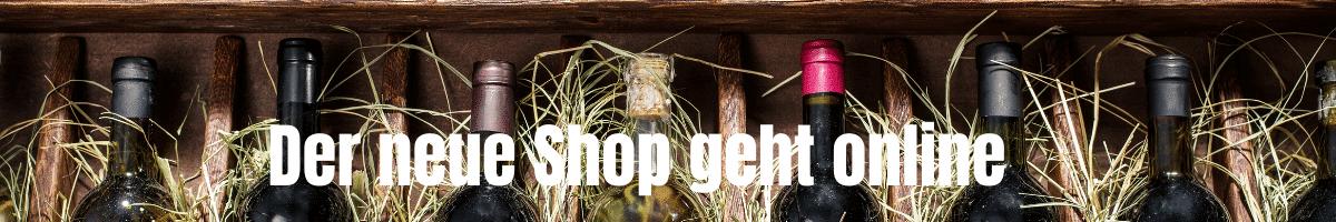 Der neue Shop geht online